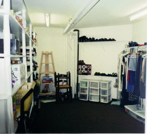 The safe/closet interior. (aka the closet that made all other closets in my life seem inadequate)